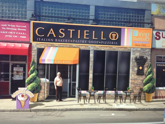 Danvers, MA : Castiello Bakery Front Rendering 
