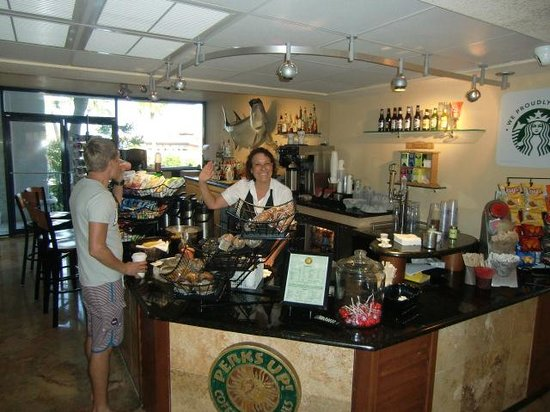 ‪‪Guy Harvey Outpost, a TradeWinds Beach Resort‬: Starbucks‬