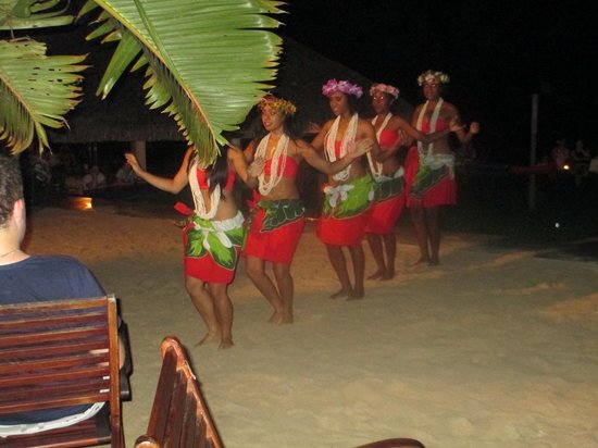 Breakas Beach Resort Vanuatu: some of the night entertainment