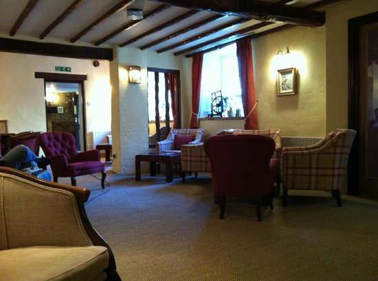 Mill House Hotel: the lounge area.