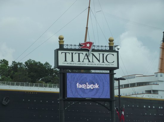 Titanic Museum Attraction: .