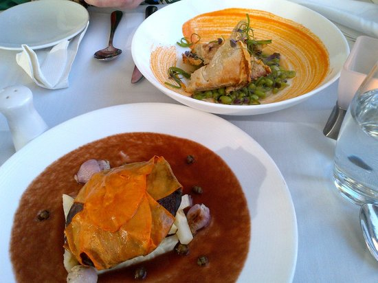 Somerville, MA: Sweet Potato Wrapped Portabella Mushroom and Tempeh Filled Trianges of Happiness