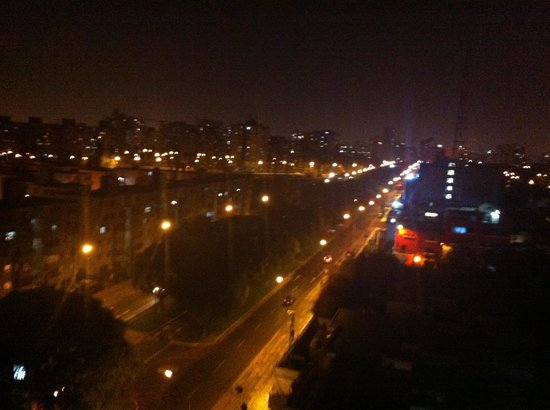 Melia Lima: Night view from a terrace