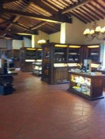 Castello Banfi - Il Borgo: Lo shop