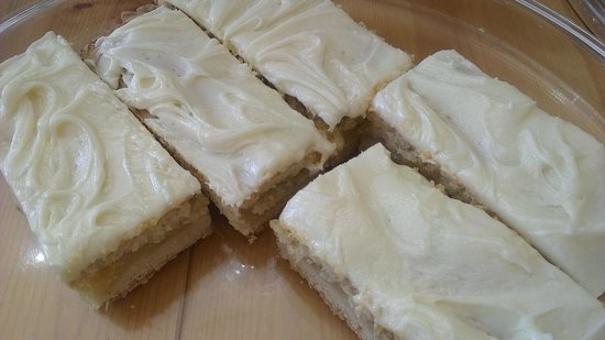 Orton, UK: Aple shortbread