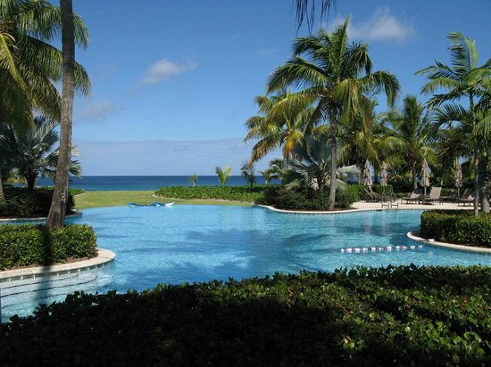 Four Seasons Resort Nevis, West Indies: one of 3 seaside pools
