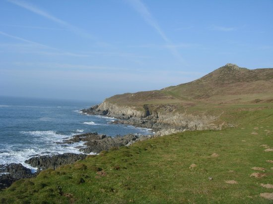 Combe Martin, UK: Coastal path