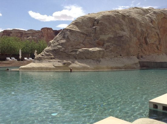 Amangiri : Piscine 