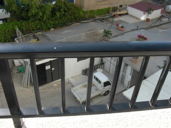 Pavlo Napa Beach Hotel: Super balcony view