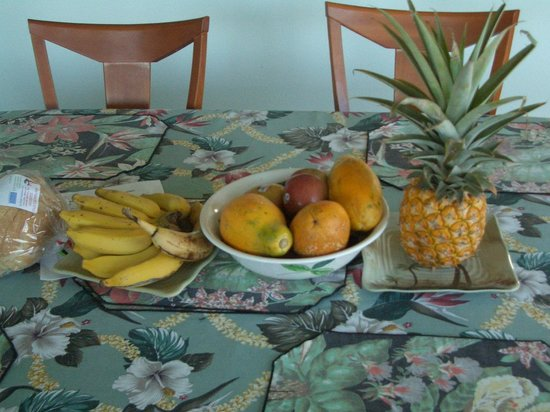 Absolute Paradise Gay B&B: Fresh fruit available for breakfast.