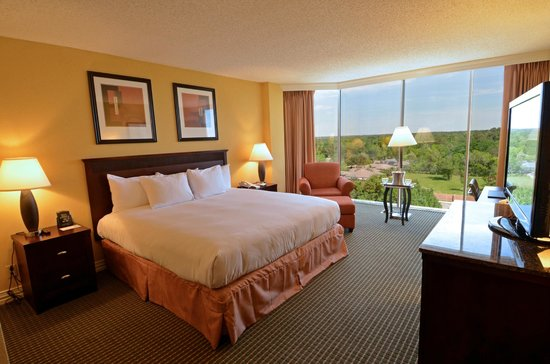 Hilton Houston Westchase: King Bed Guest Room