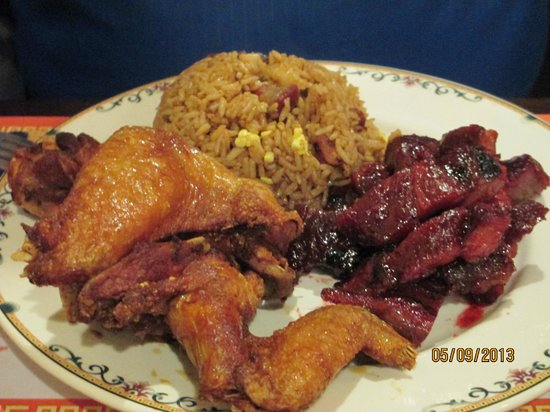 Plymouth, NH: #7 Chicken Wings, Boneless Ribs and Fried Rice