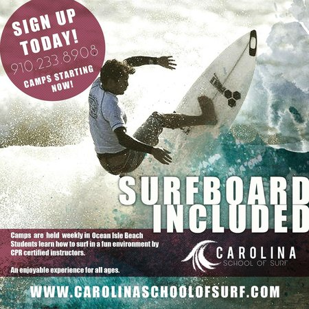 Ocean Isle Beach Surf Camp
