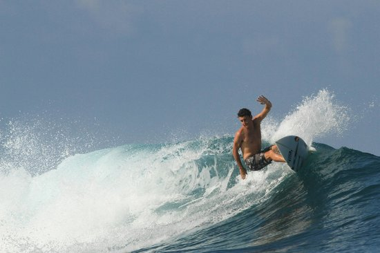 Ocean Isle Beach, Caroline du Nord : Ben Powell in Indonesia 