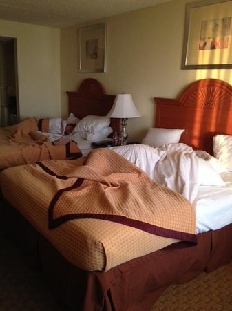 BEST WESTERN PLUS Holiday Sands Inn & Suites: Two queen bed room, very clean & well kept