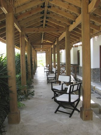 Balcones del Atlantico: Outside main reception area
