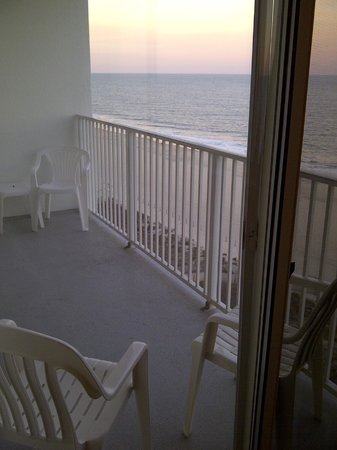 Princess Royale Resort : View from oceanfront condo