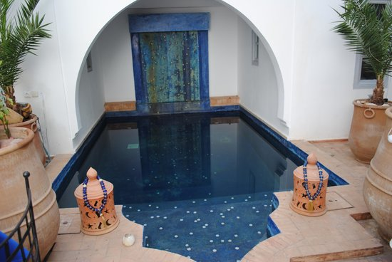 Riad L&#39;Orchidee: piscine