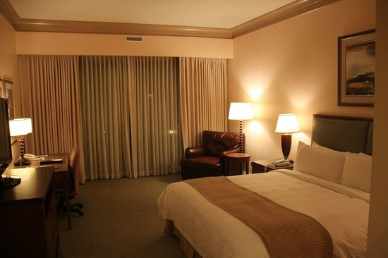 The Woodlands Resort & Conference Center: Room view (room near swimming pool)