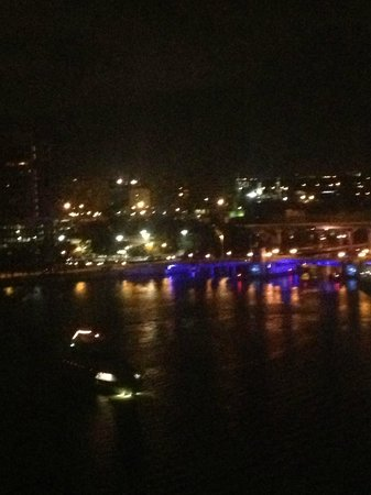 Westin Tampa Harbour Island: View from the 12th floor room