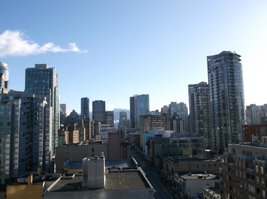 BEST WESTERN PLUS Downtown Vancouver: pretty city