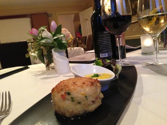 Carnegie Inn & Spa: Crab Cakes