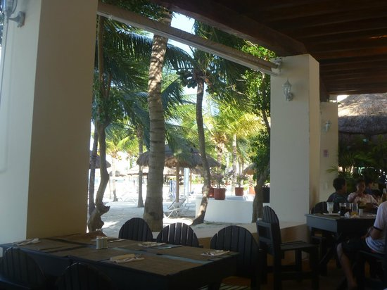 Oasis Palm Hotel: Vista de um dos restaurantes