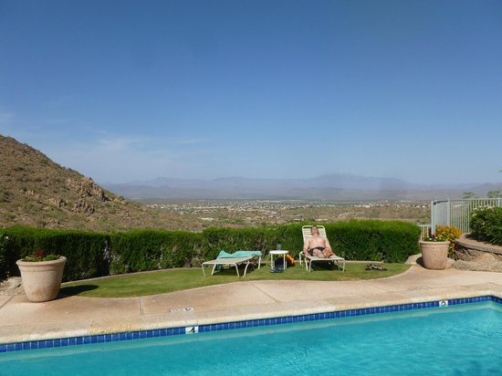Fountain Hills, AZ: lap/adult pool view