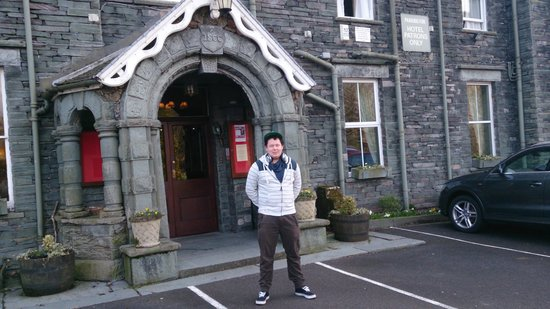 Borrowdale, UK: outside the hotel