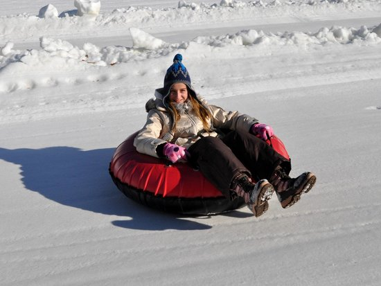 Rocking Horse Ranch Resort: Snow Tubing in our Winter Fun Park