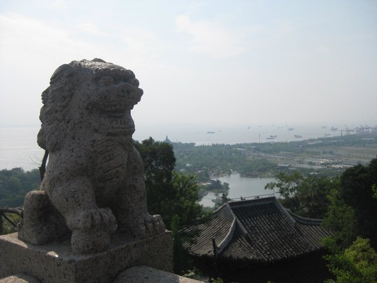 Nantong, จีน: A view from the top