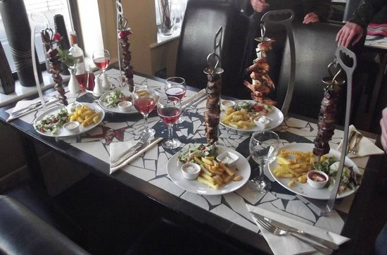 Port Erin, UK: A mouth watering meal
