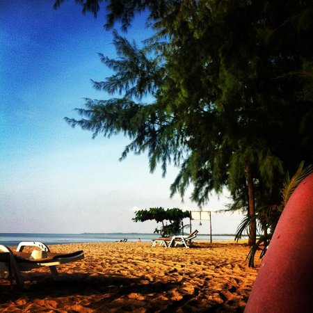 Ko Kho Khao, Tailandia: View at the beach