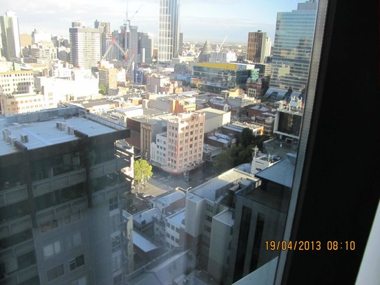 Citadines on Bourke Melbourne: View from bedroom