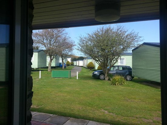 Parkdean - Holywell Bay Holiday Park: View of the park through the bunglow lounge....