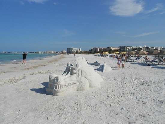 Siesta Key Inn: Beach