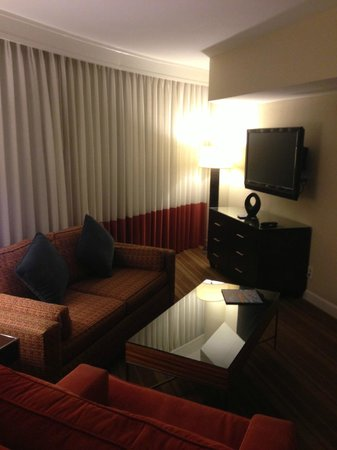 InterContinental Hotel Tampa: Sitting area