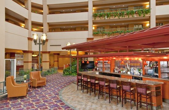 Embassy Suites Airport/Convention Center: Falls Lounge