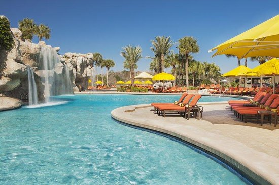 Hyatt Regency Grand Cypress: Pool Deck