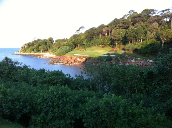 Club Med Bintan Island: Playing Ria Bintan golf course next door was a big treat