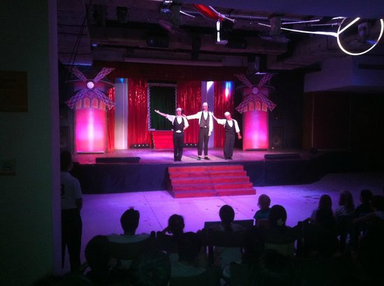 Club Med Bintan Island: evening entertainment by the multi-talented staff was a hit - acrobats, dancers, comedians