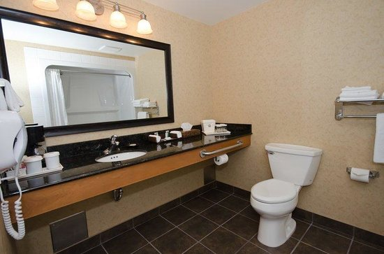 BEST WESTERN Sicamous Inn: Mobility Accessible Guest Bathroom