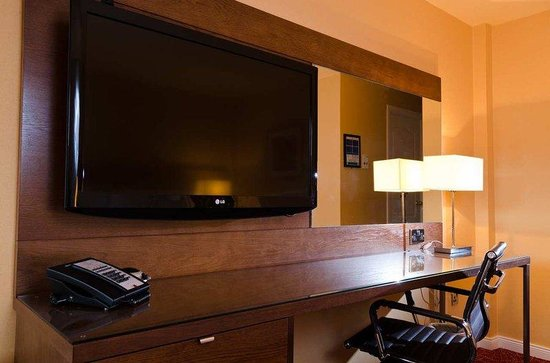 DoubleTree by Hilton Aberdeen City Centre: Flatscreen Television