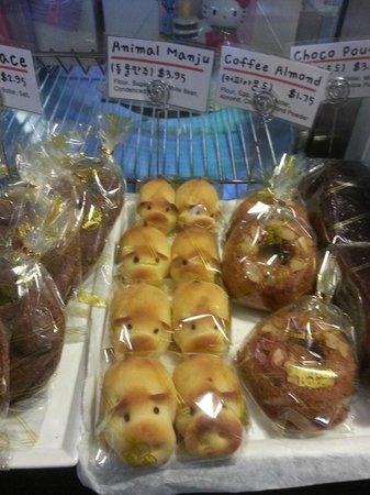 Ellicott City, MD: Animal shaped manju