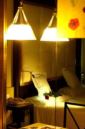 Antares Hotel Accademia: Single Room