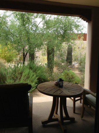 Four Seasons Resort Scottsdale at Troon North: View from Casita Garden room