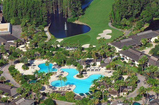 Saddlebrook Resort Tampa: Saddlebrook Resort Aerial