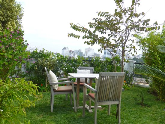 Hotel &amp; Spa Le Doge - Relais &amp; Chateaux: Roof Top Garden