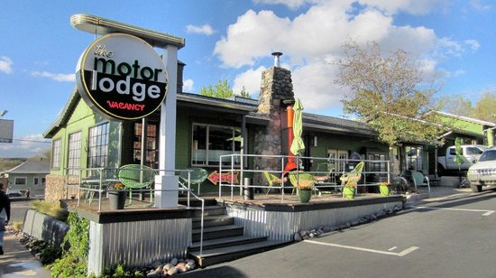 The Motor Lodge: Office