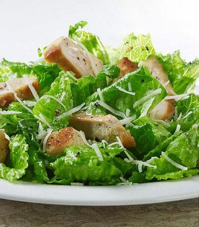 Courtyard by Marriott Herndon Reston: The Bistro Chicken Caesar Salad